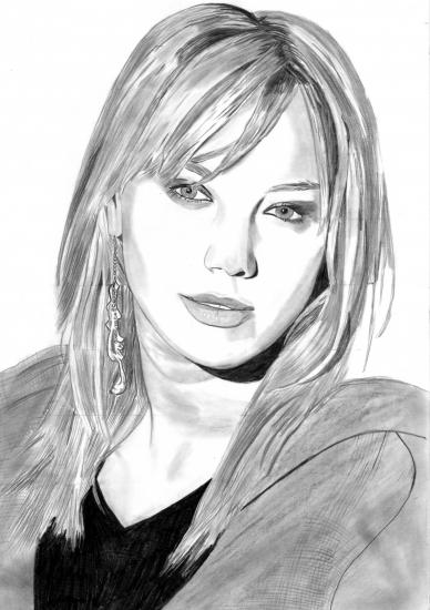 Hilary Duff par tribalced